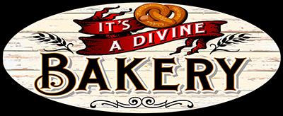 It's A Divine Bakery Logo